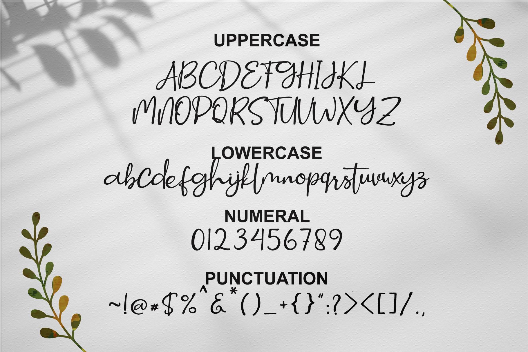 Smitta Bali - Luxury Signature Font example image 8