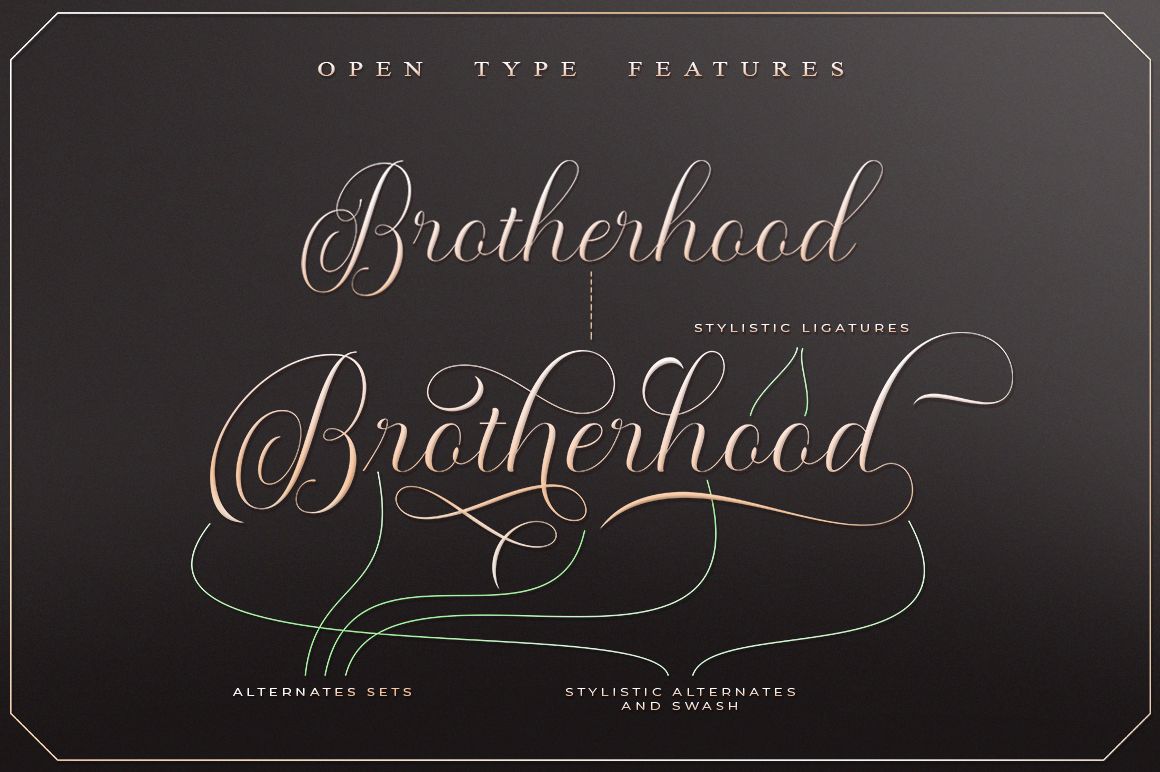 Moderena Script || 3 Style example image 3
