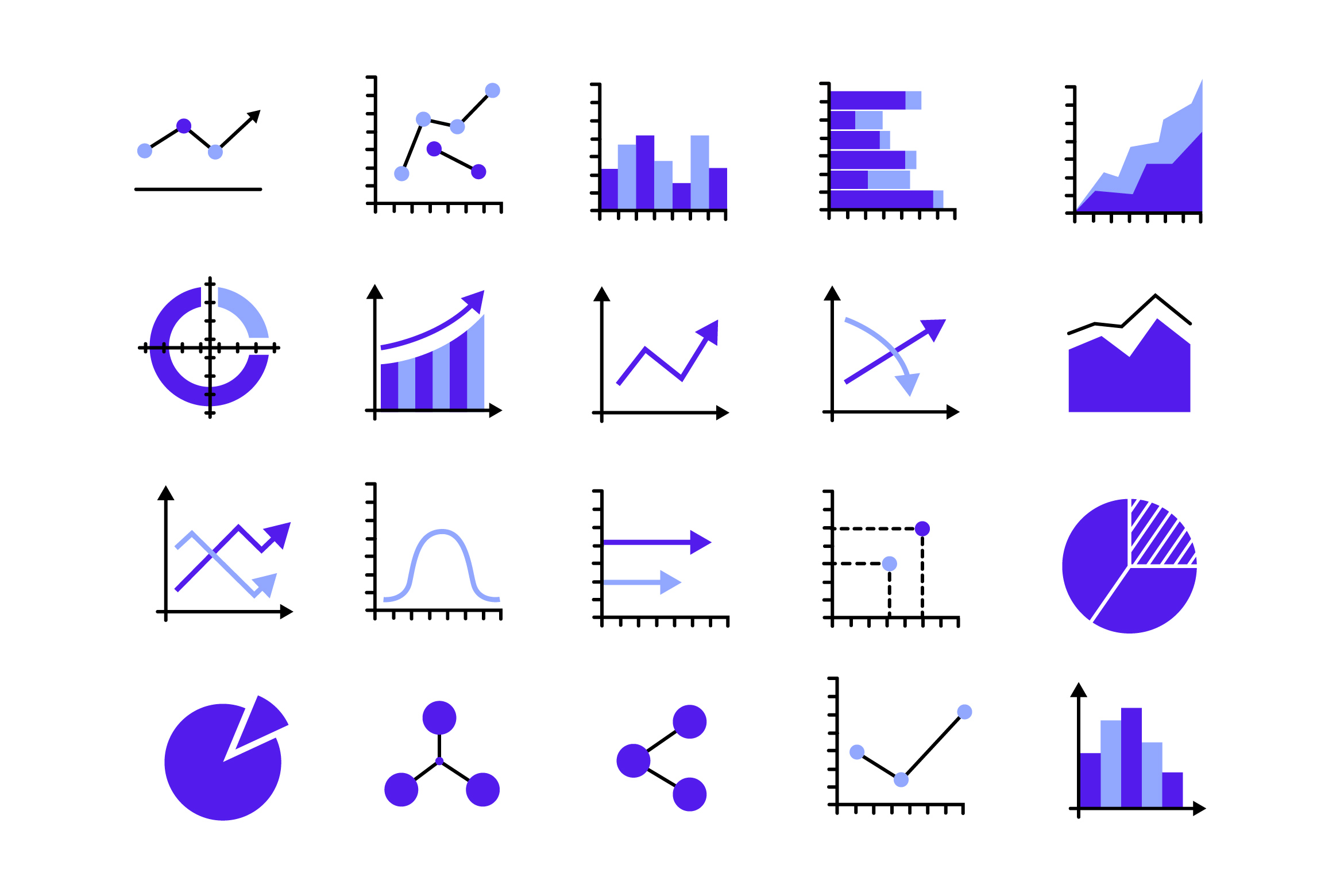 Statistical Icons example image 1