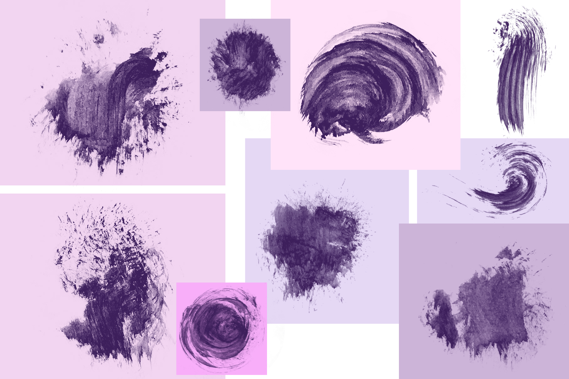 95 Watercolor brushes for PS example image 4
