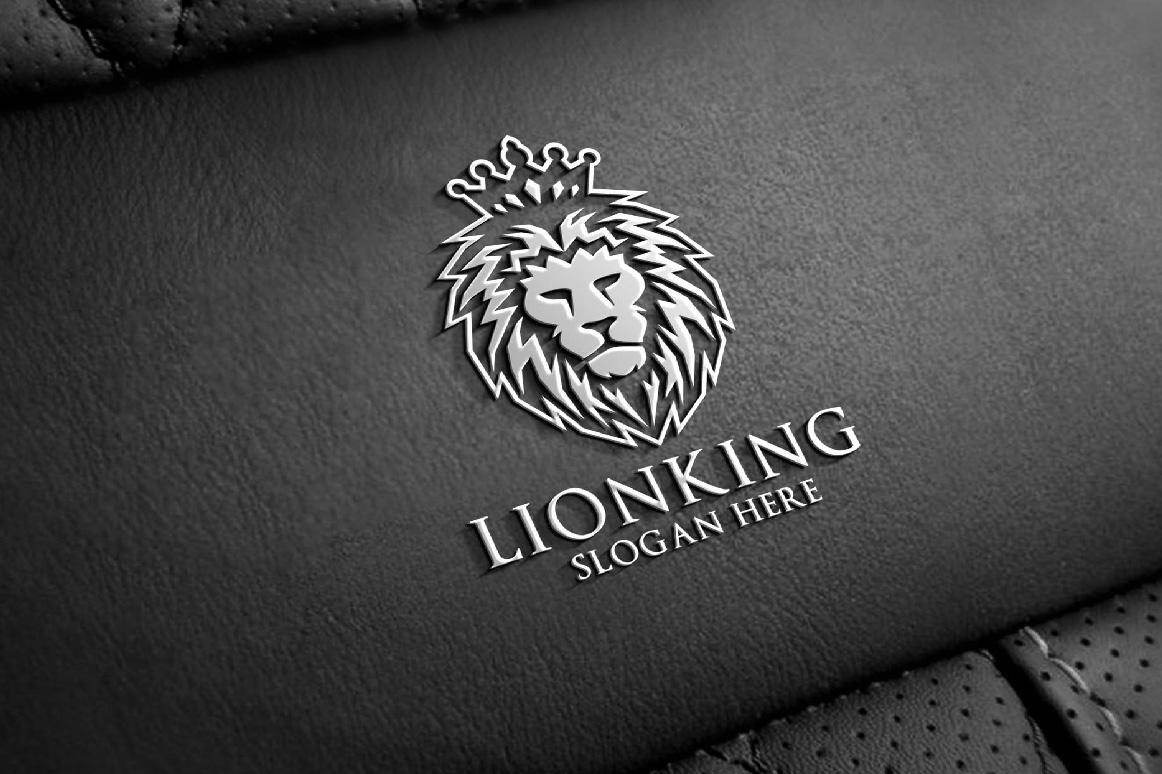 Lion logo example image 6
