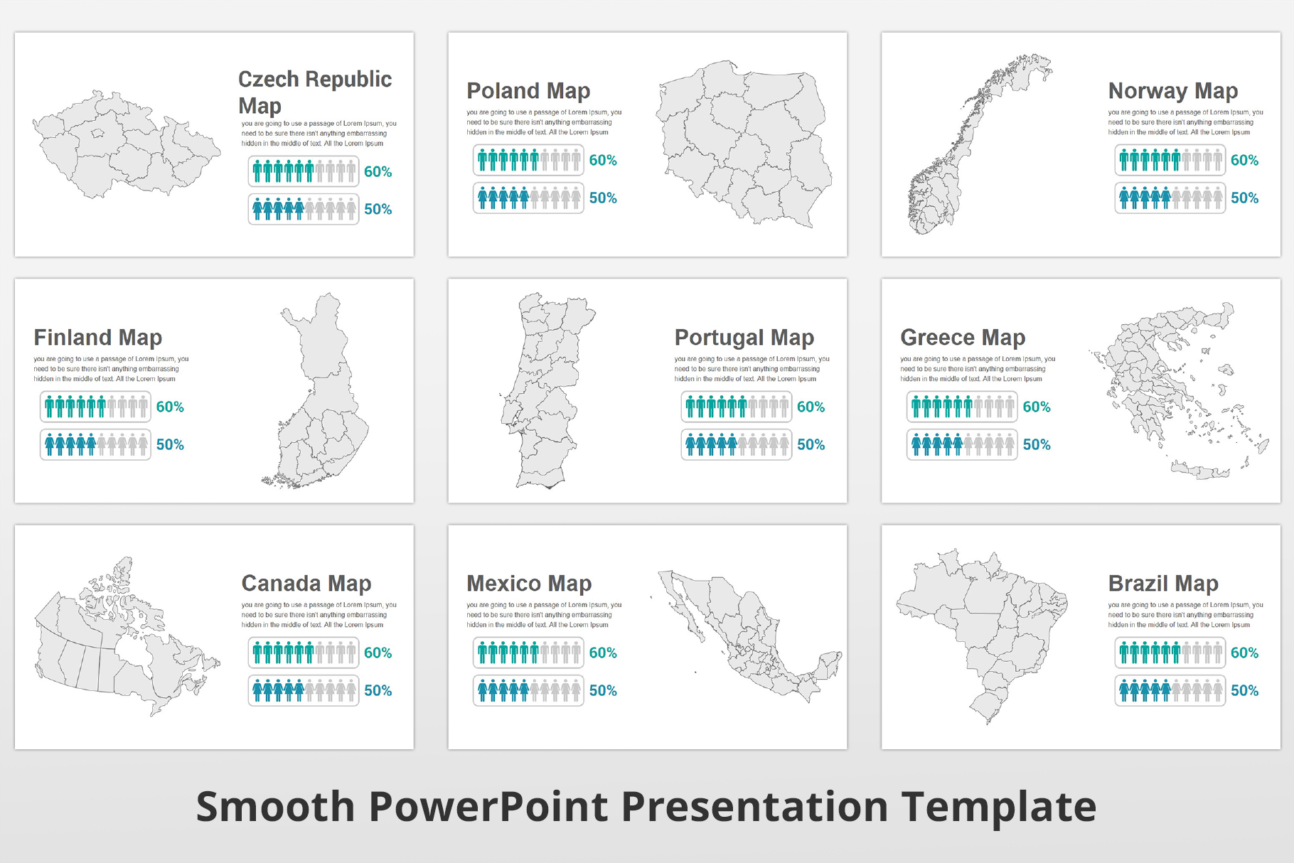 Smooth multipurpose PowerPoint Presentation Template example image 23