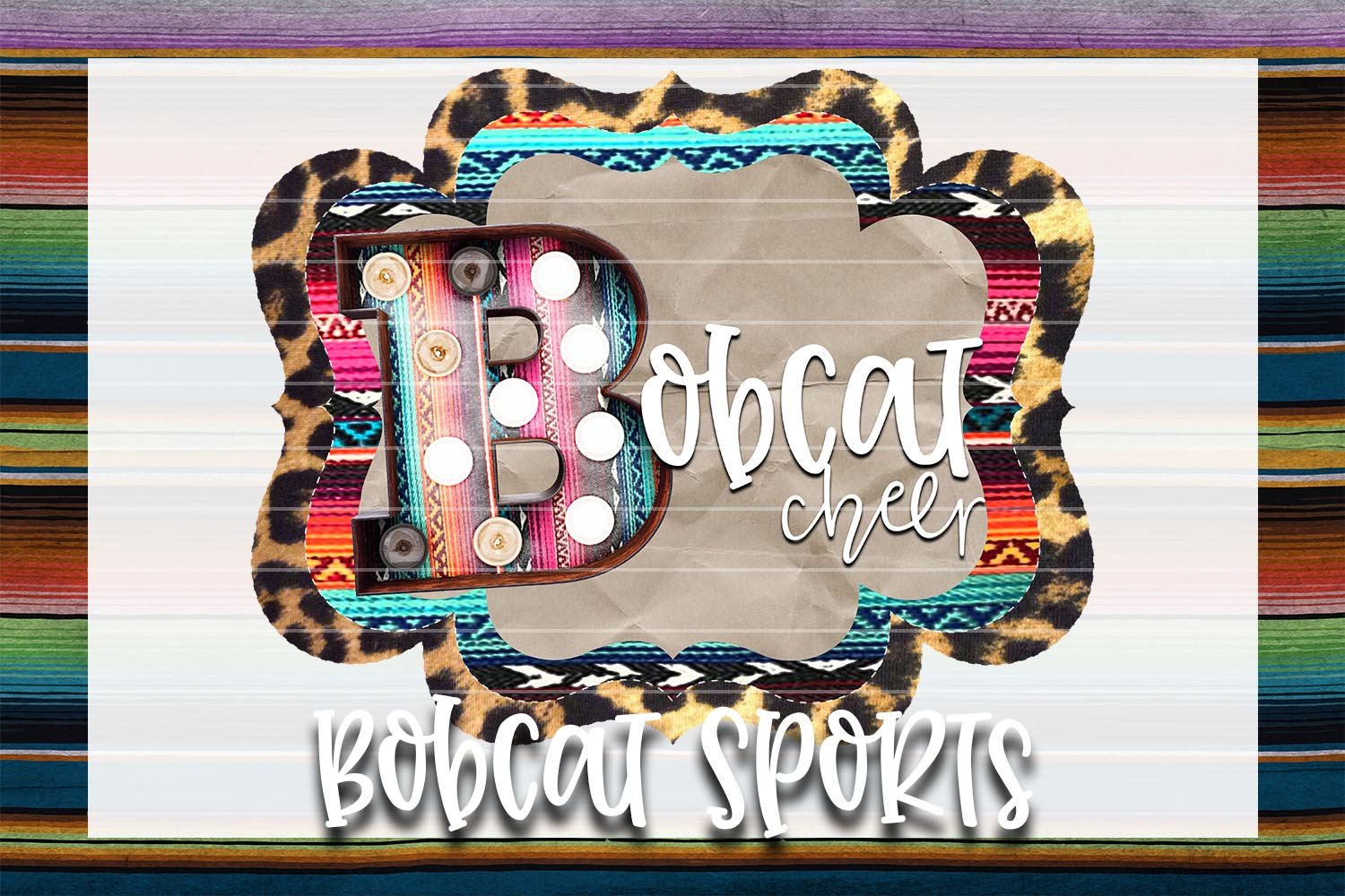 Bobcat Cheer Sublimation PNG example image 1