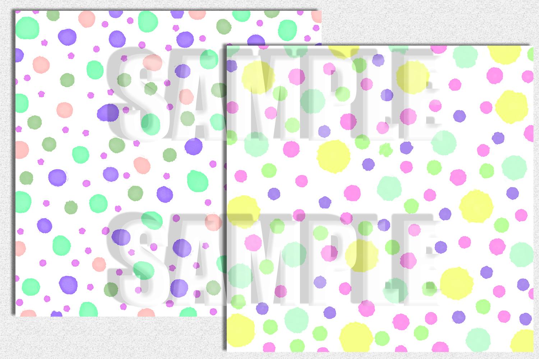 Confetti Digital Paper, Pastel Color, Digital Background example image 3