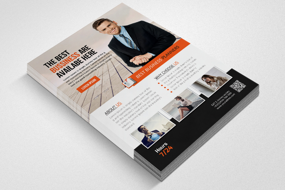 Business Executive Coach Flyer  example image 2