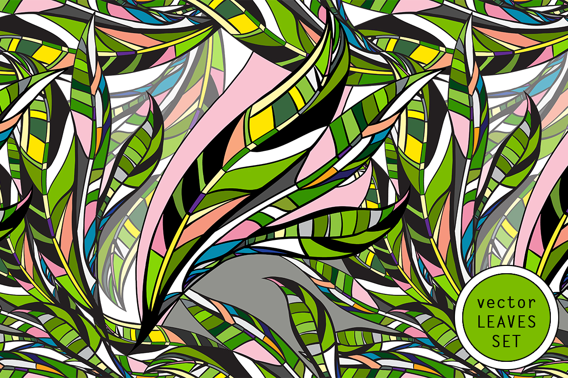 LEAVES vector collection. example image 1