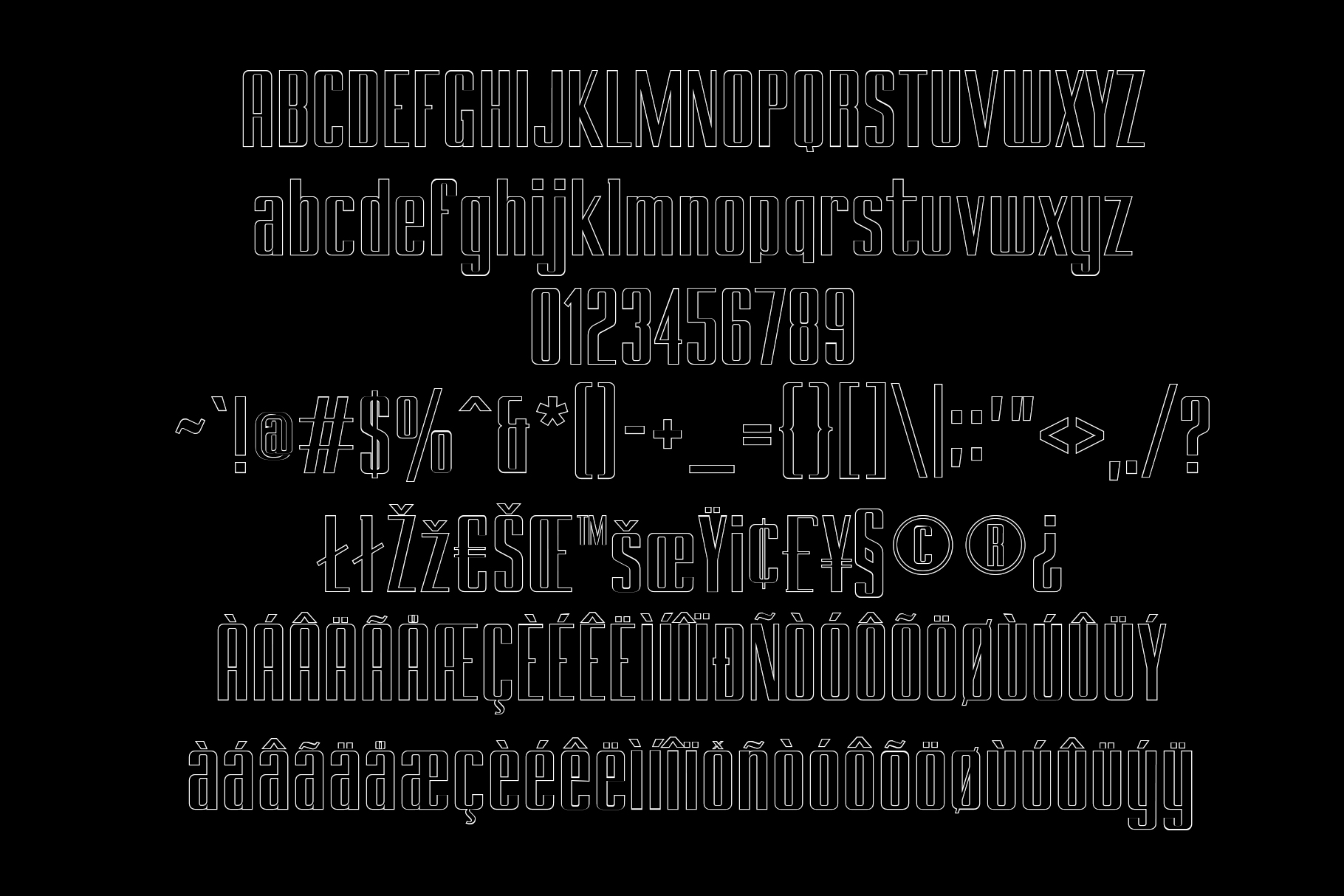 BRANCHE - Display Font example image 12