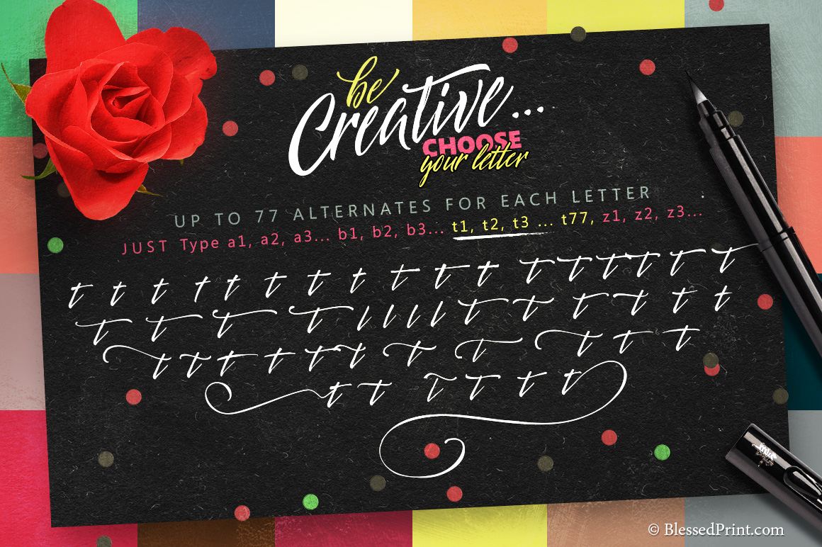 The Creative Font-Kit example image 4