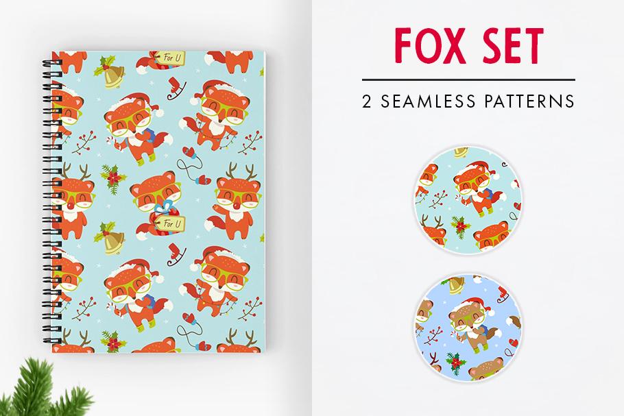 FINAL SALE!  Christmas patterns bundle example image 4