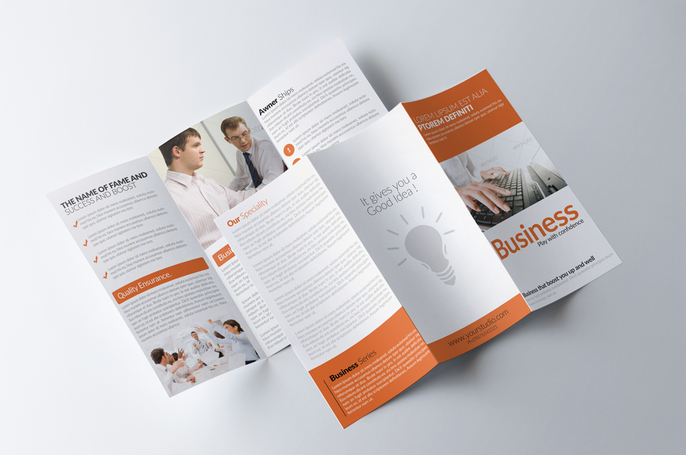 Business Solution Trifolde Brochure example image 2