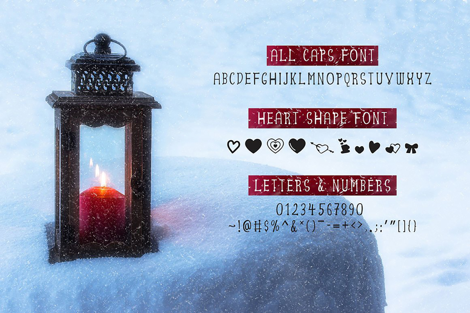 Alayna Valentines Love Font example image 3