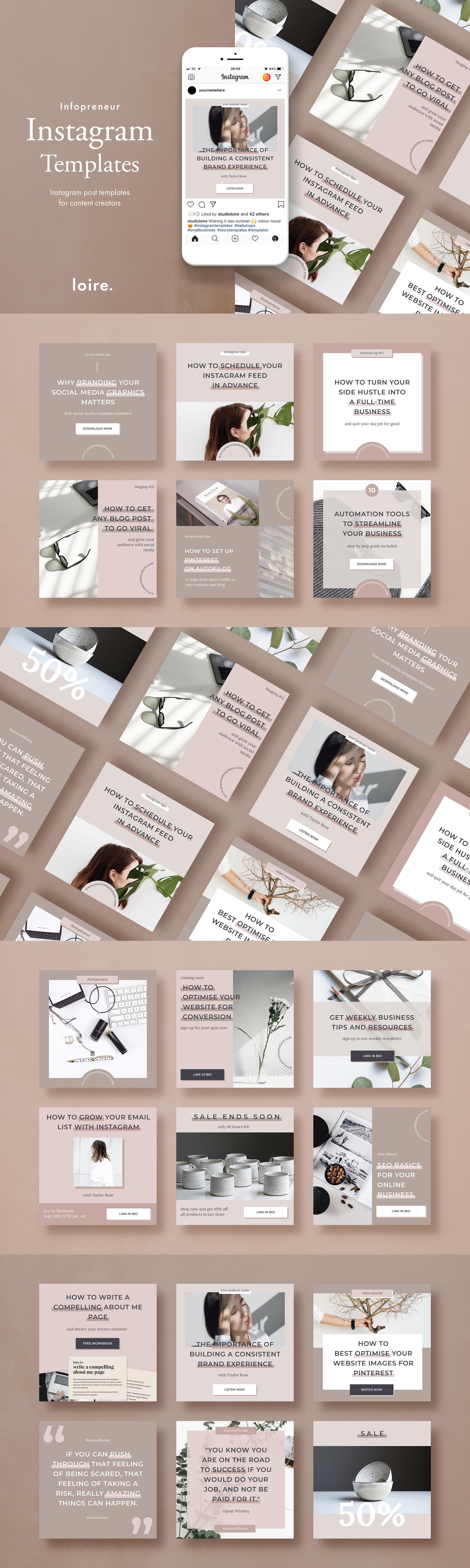 Instagram marketing bundle for bloggers example image 2