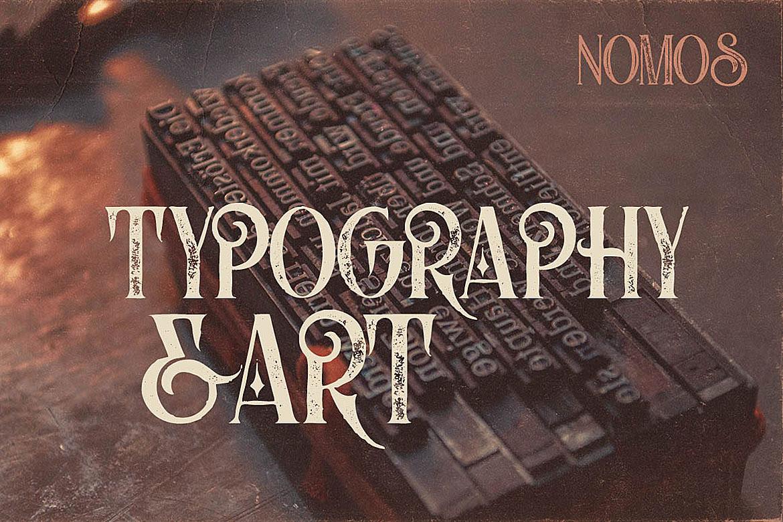 Nomos Typeface example image 5