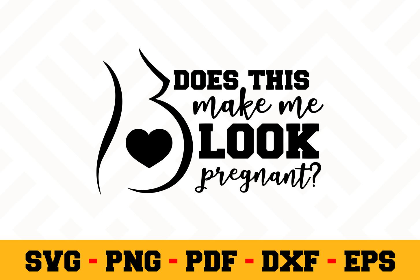 Pregnant SVG Design n546   Pregnant SVG Cut File example image 1