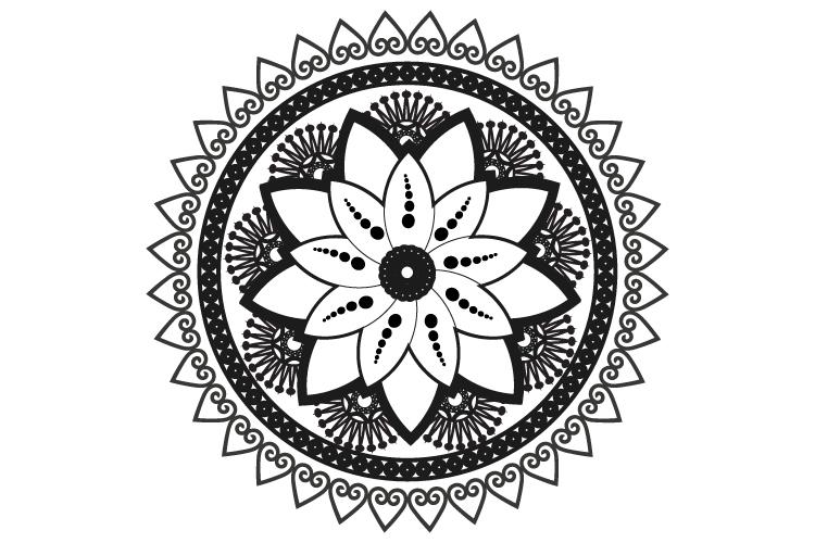Mandalas. Round forms. example image 4