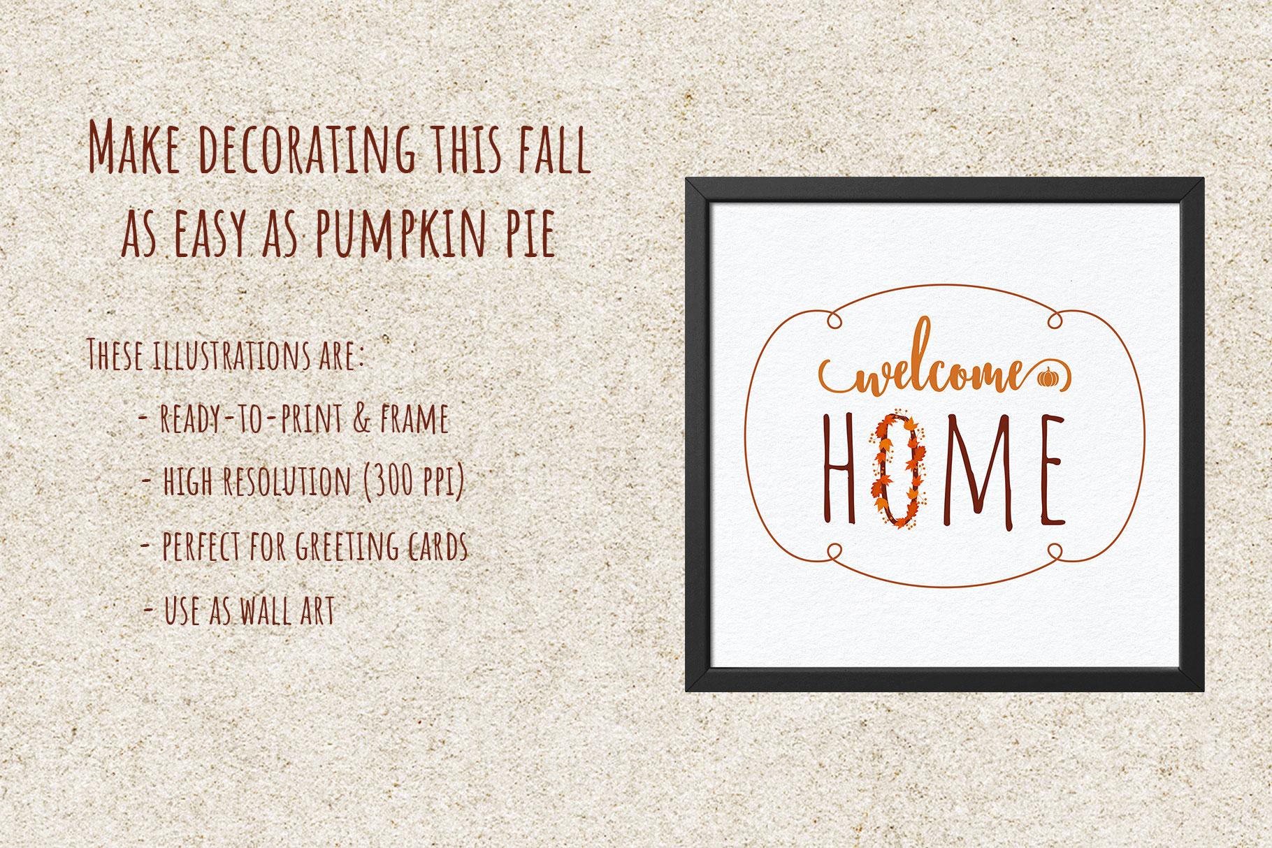 Autumn Printables & Illustrations example image 5