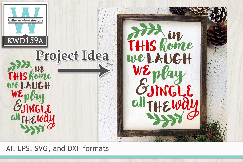 Christmas Svg Jingle All The Way 8980 Svgs Design Bundles