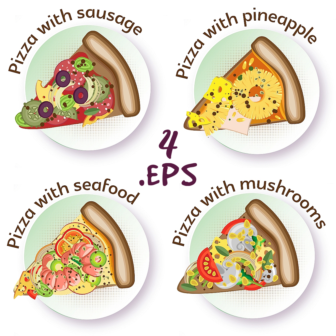 Pizza set example image 4