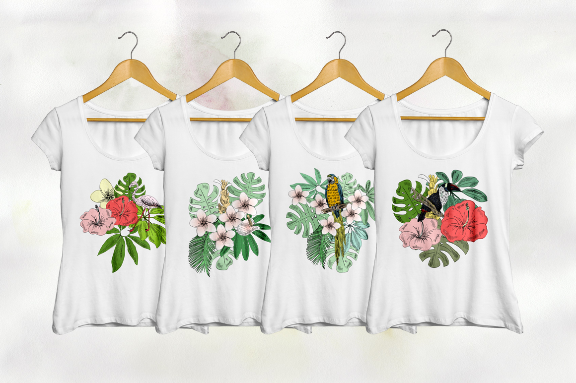 Tropical collection. example image 7