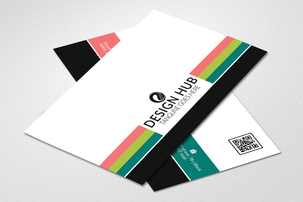 Colorfull Business Cards example image 2