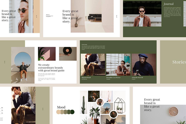 Kyuleto - Google Slide Template example image 1