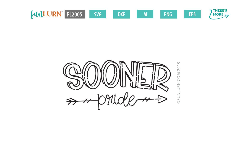 Sooner Pride Team SVG Cut File example image 2