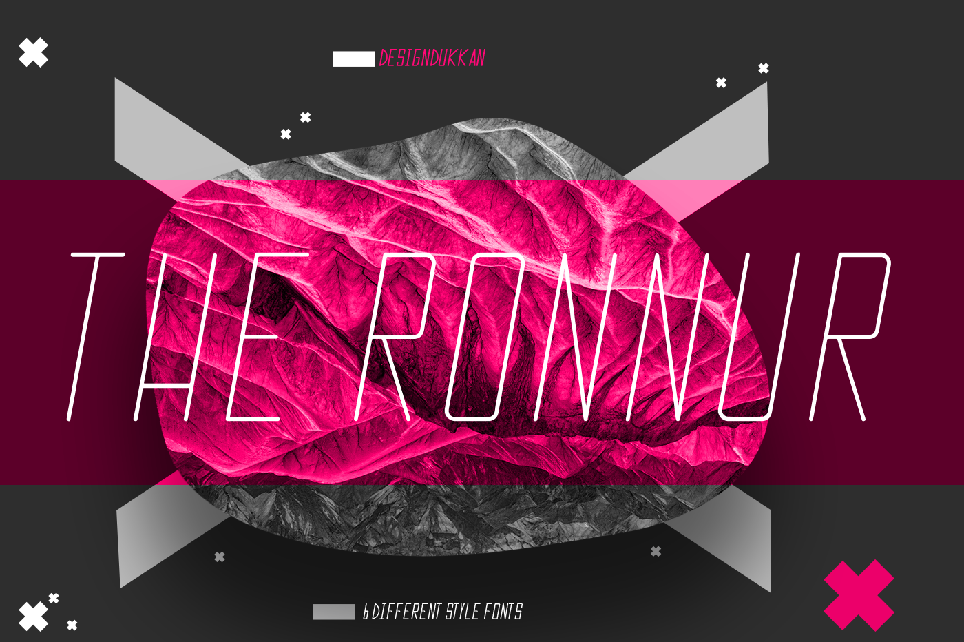 The Ronnur Font Family example image 5