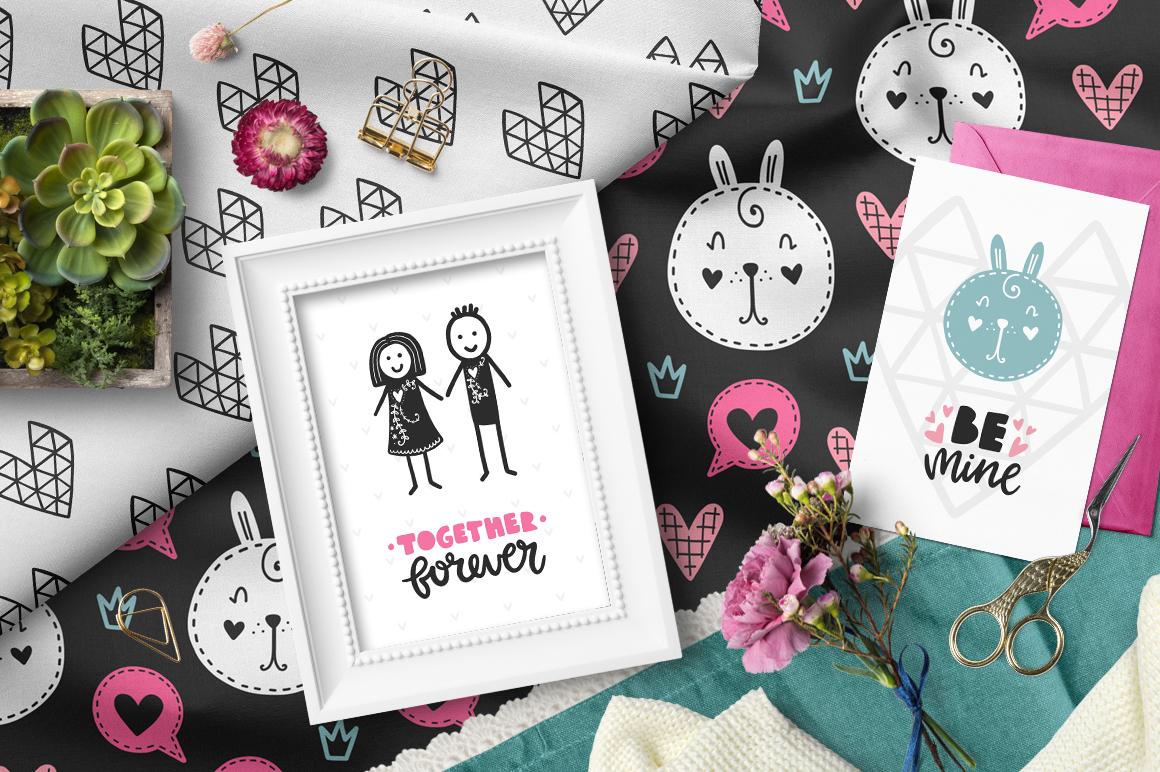 Hello Valentine's Day - Clipart Set! example image 2