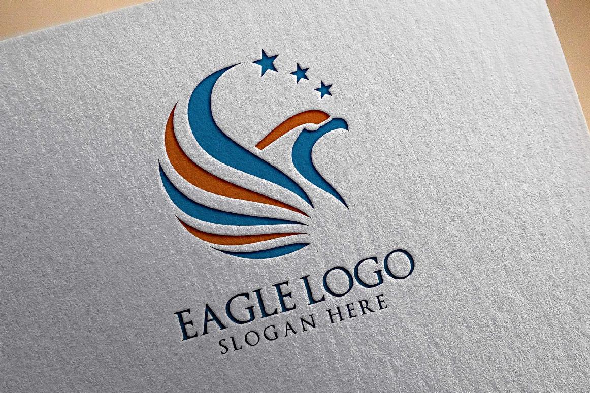 Eagle Star Logo Template example image 5