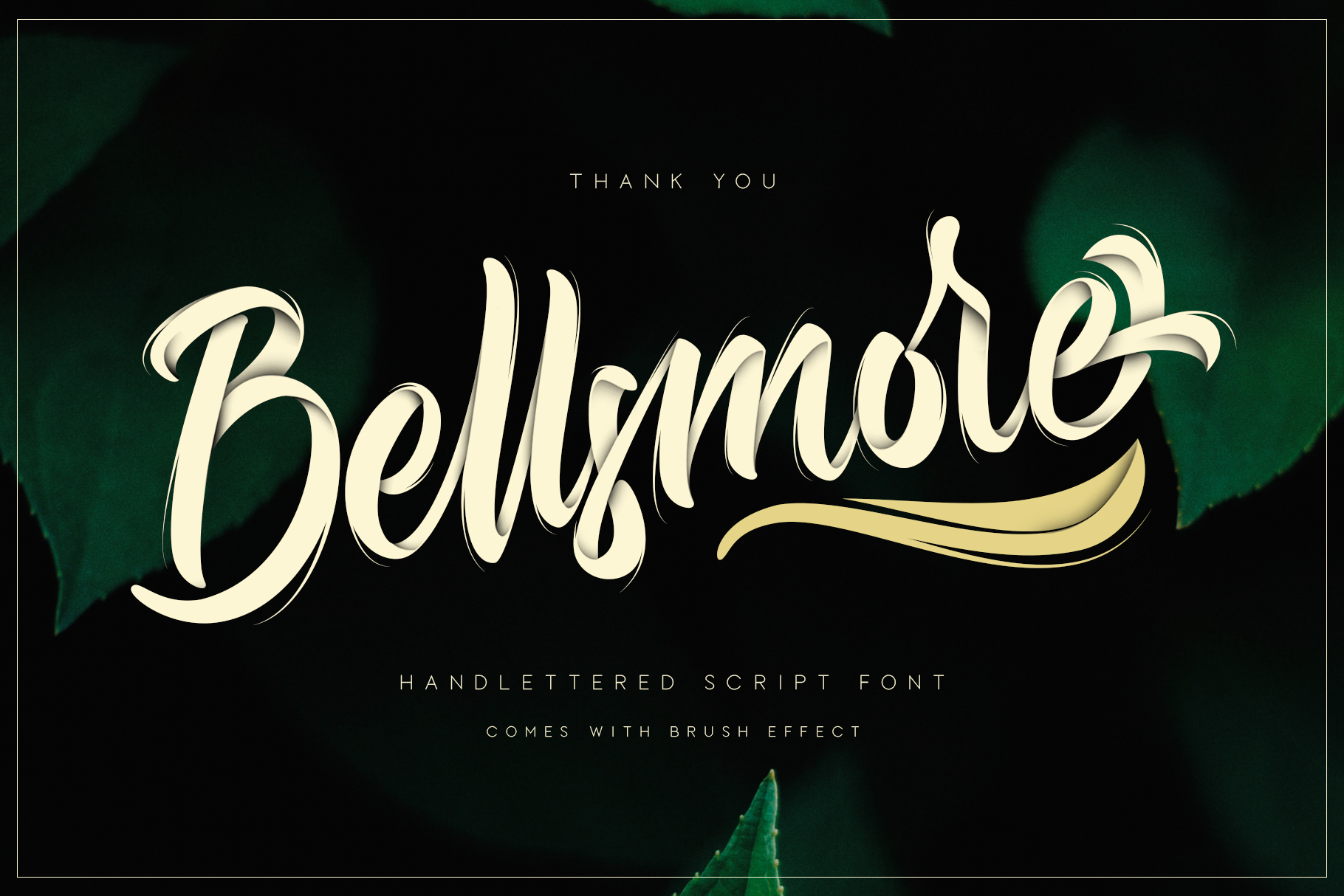 Bellsmore Brush Script example image 18