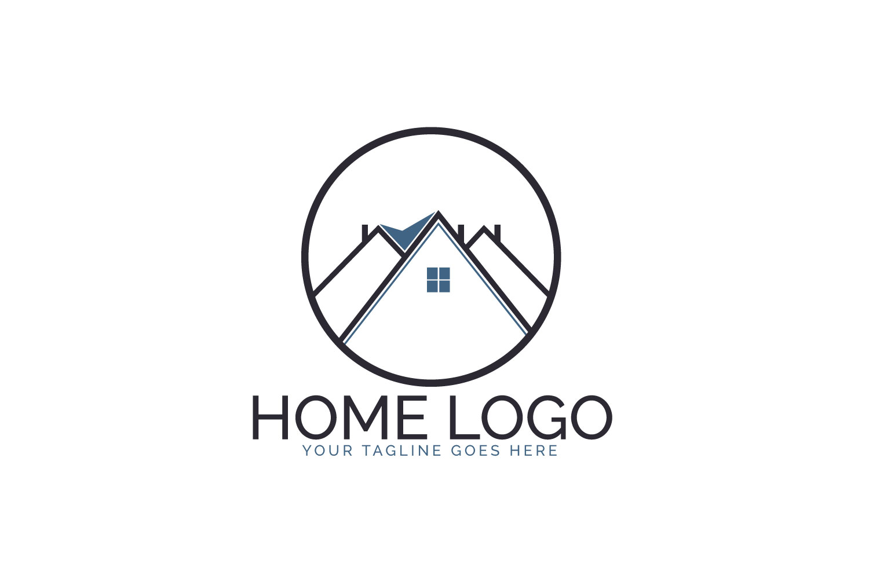 Home Logo Design. example image 1