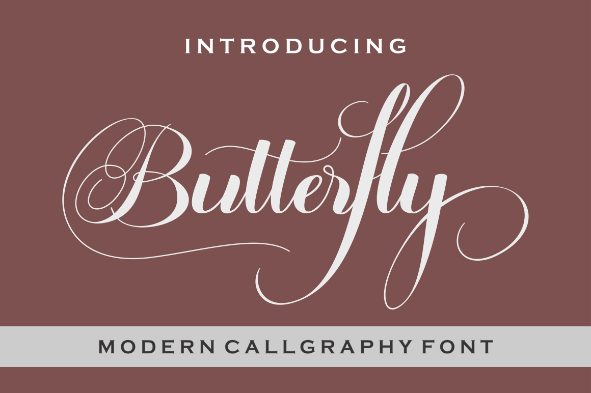 Butterfly Script example image 1