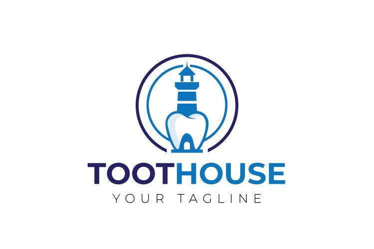 Dental, Tooth Logo Design example image 1