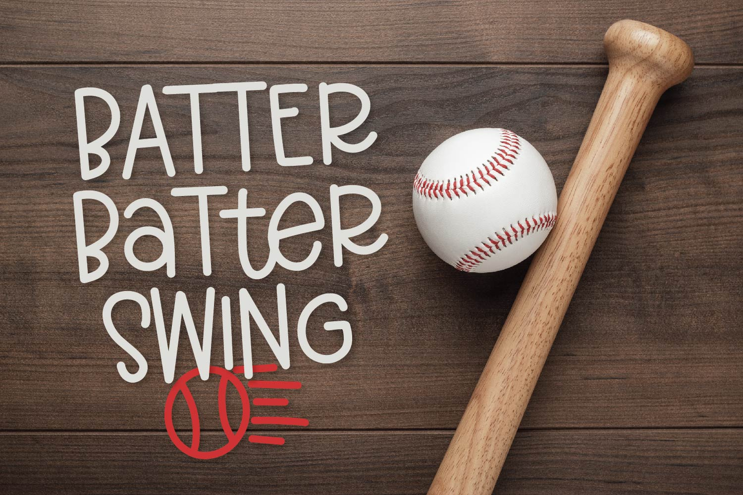 Baseball Momma - A Font Duo example image 6
