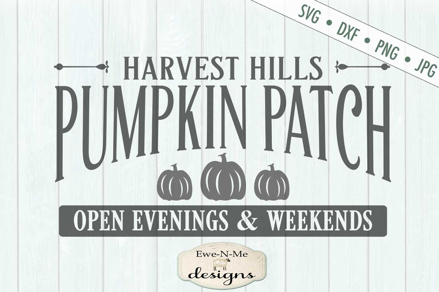Pumpkin Patch - Harvest - Fall - Autumn - SVG DXF example image 2