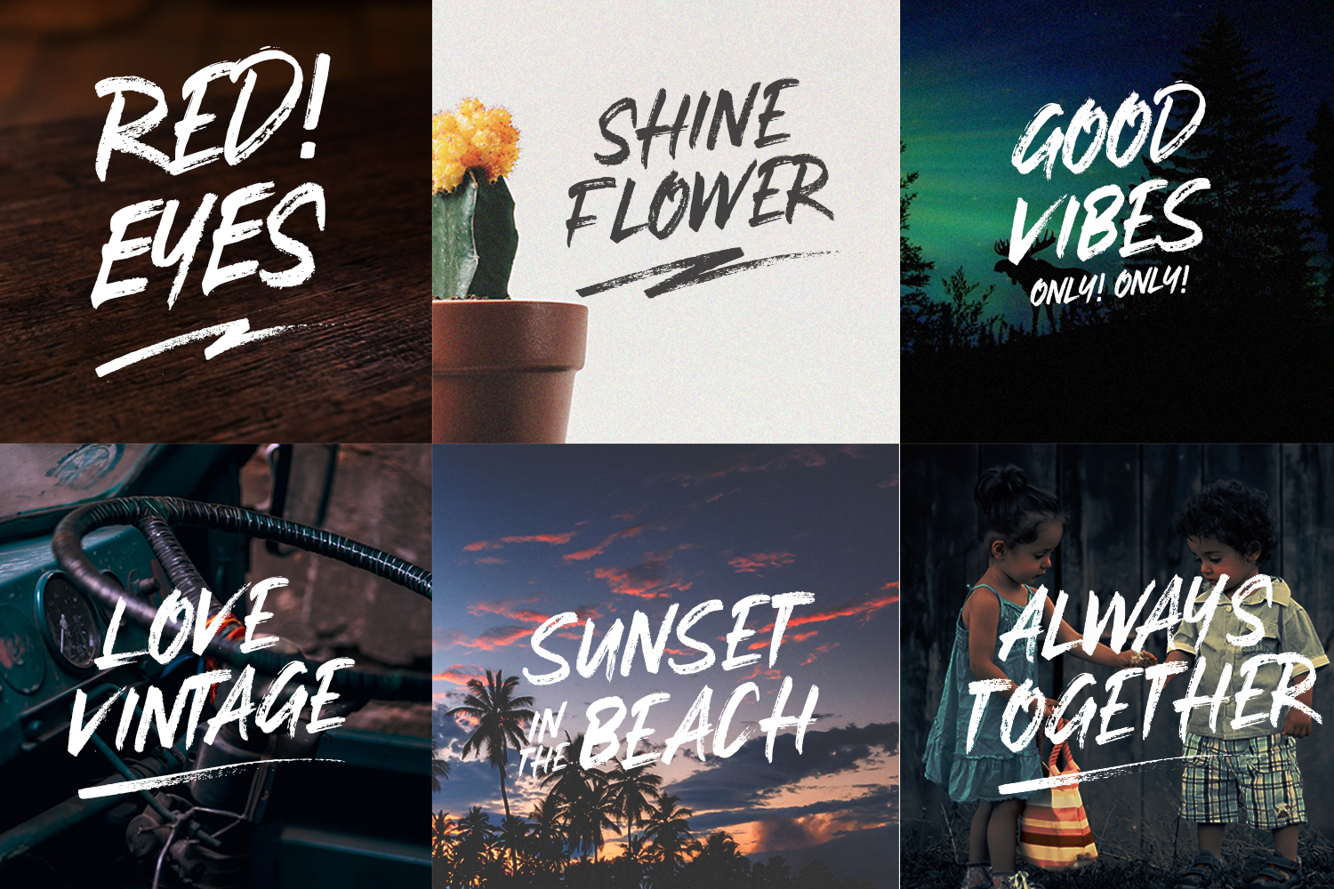 Stay Weird - Brush Font + Swashes example image 2