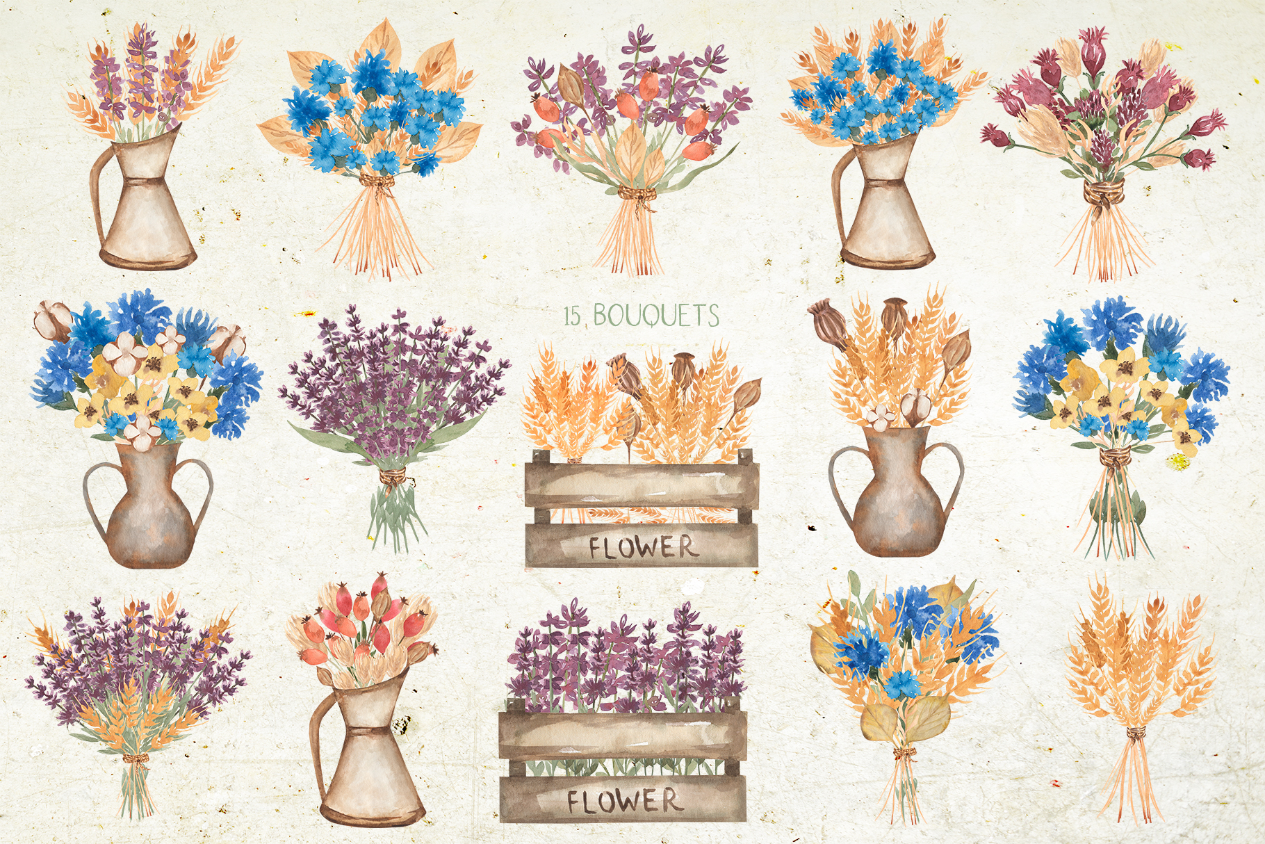 Wildflower bouquet example image 4