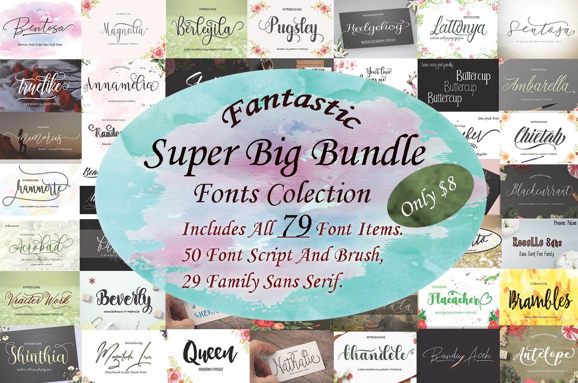 Fantastic Super Big Bundle example image 1