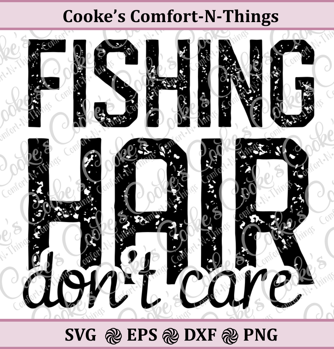 Fishing Hair, Don't Care example image 1
