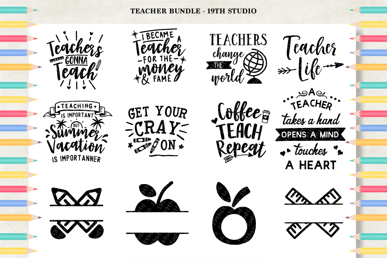 Teacher SVG Bundle - MB5 example image 2
