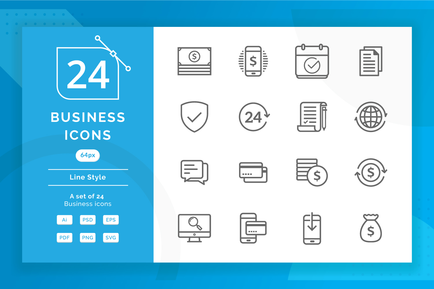 Business Icons example image 1