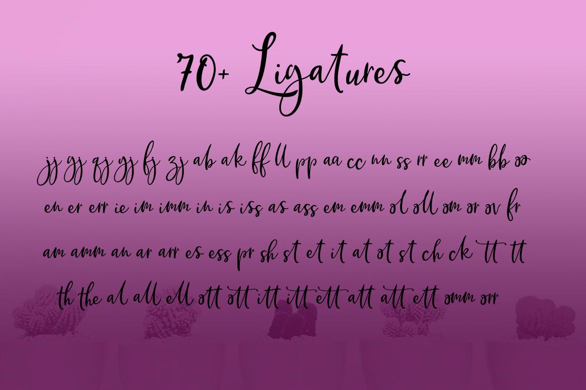Brittania Script example image 3