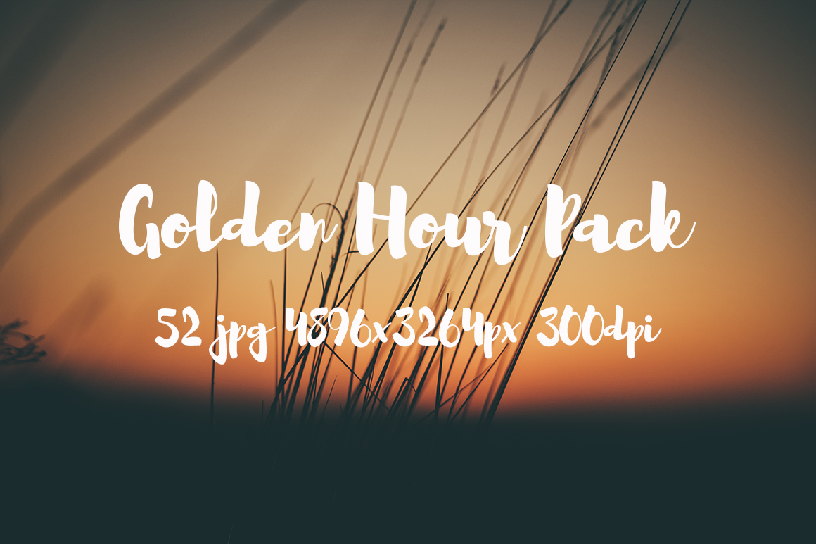 Golden hour Pack example image 6