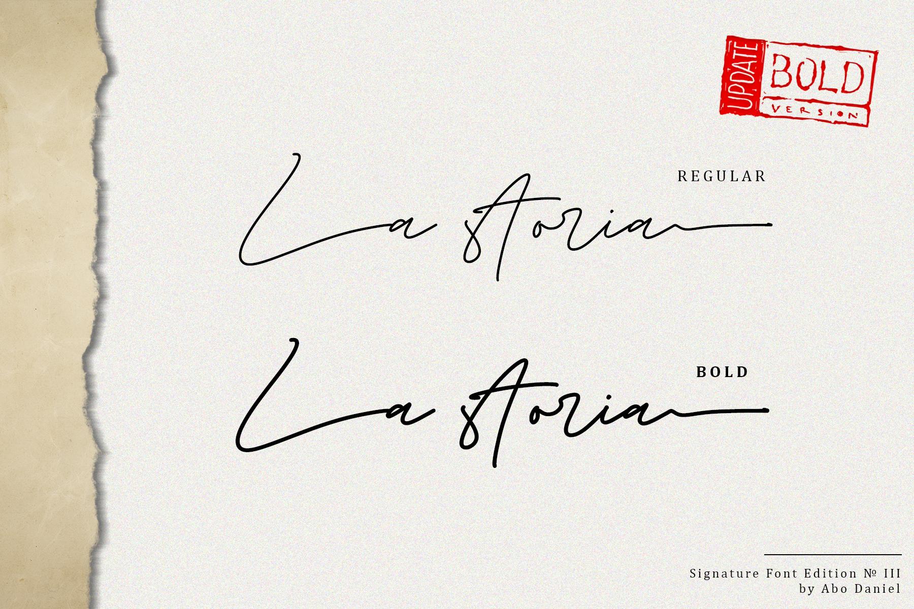 La Storia -2 Weight Signature- example image 25