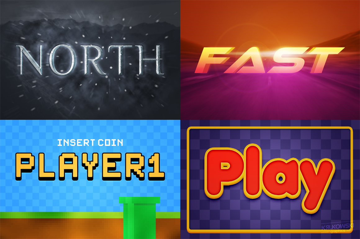 Video Games Text Effects Mockup example image 2