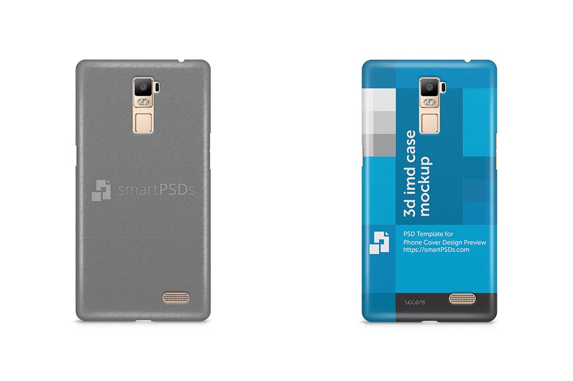 Oppo R7 Plus 3d IMD Mobile Case Design Mockup 2015 example image 1