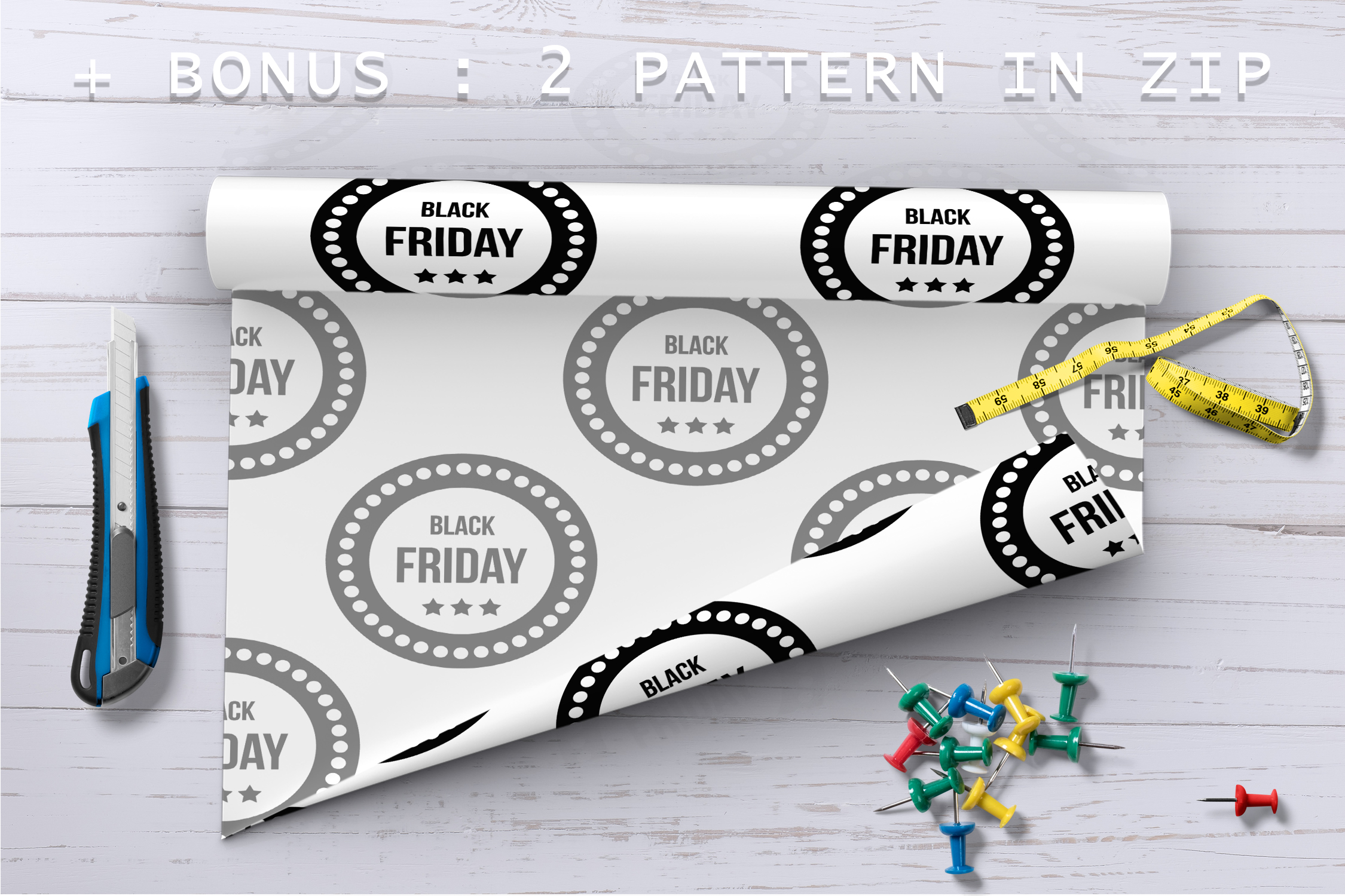 Black Friday icons set, simple style example image 3