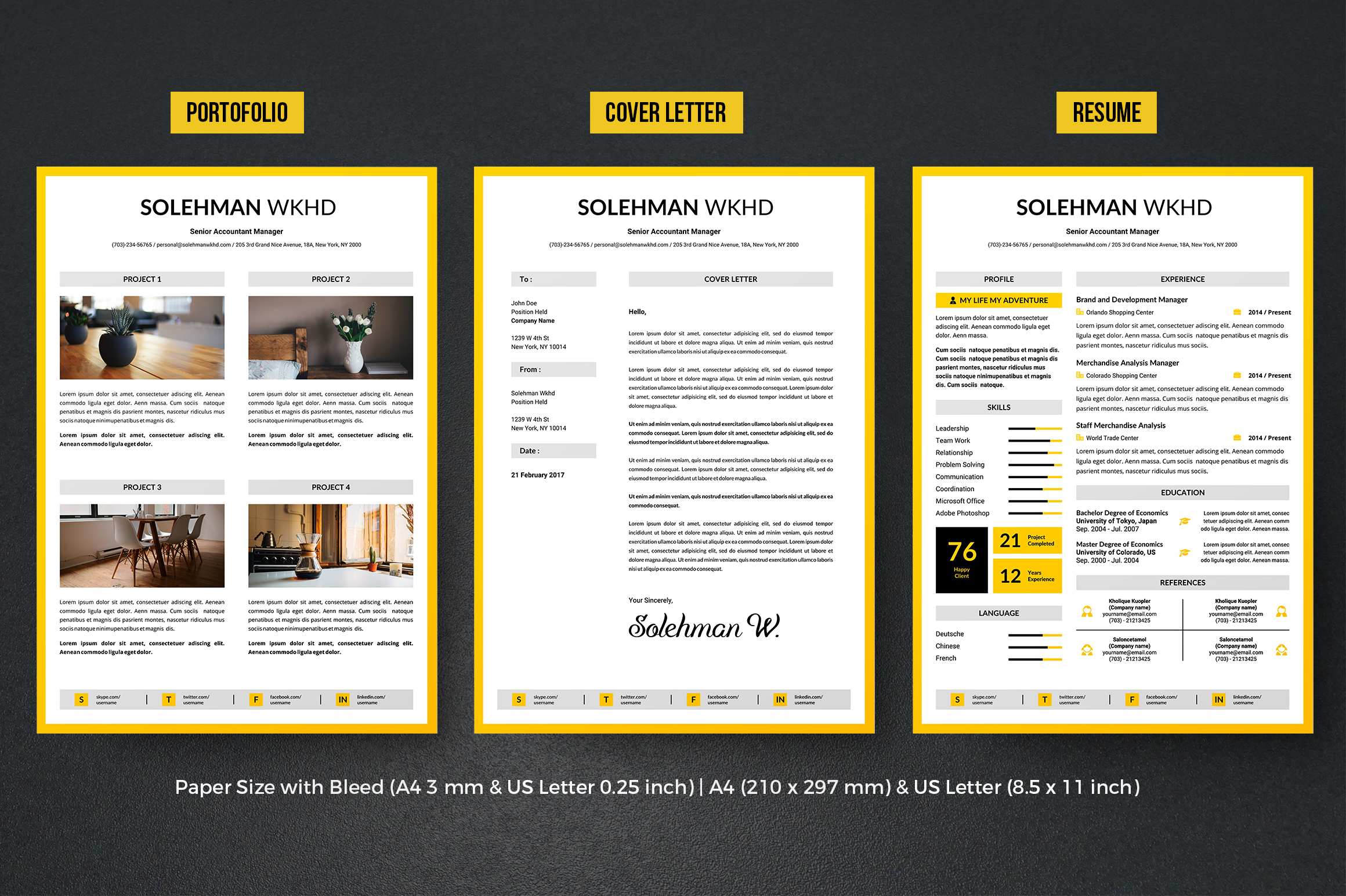 Resume example image 2