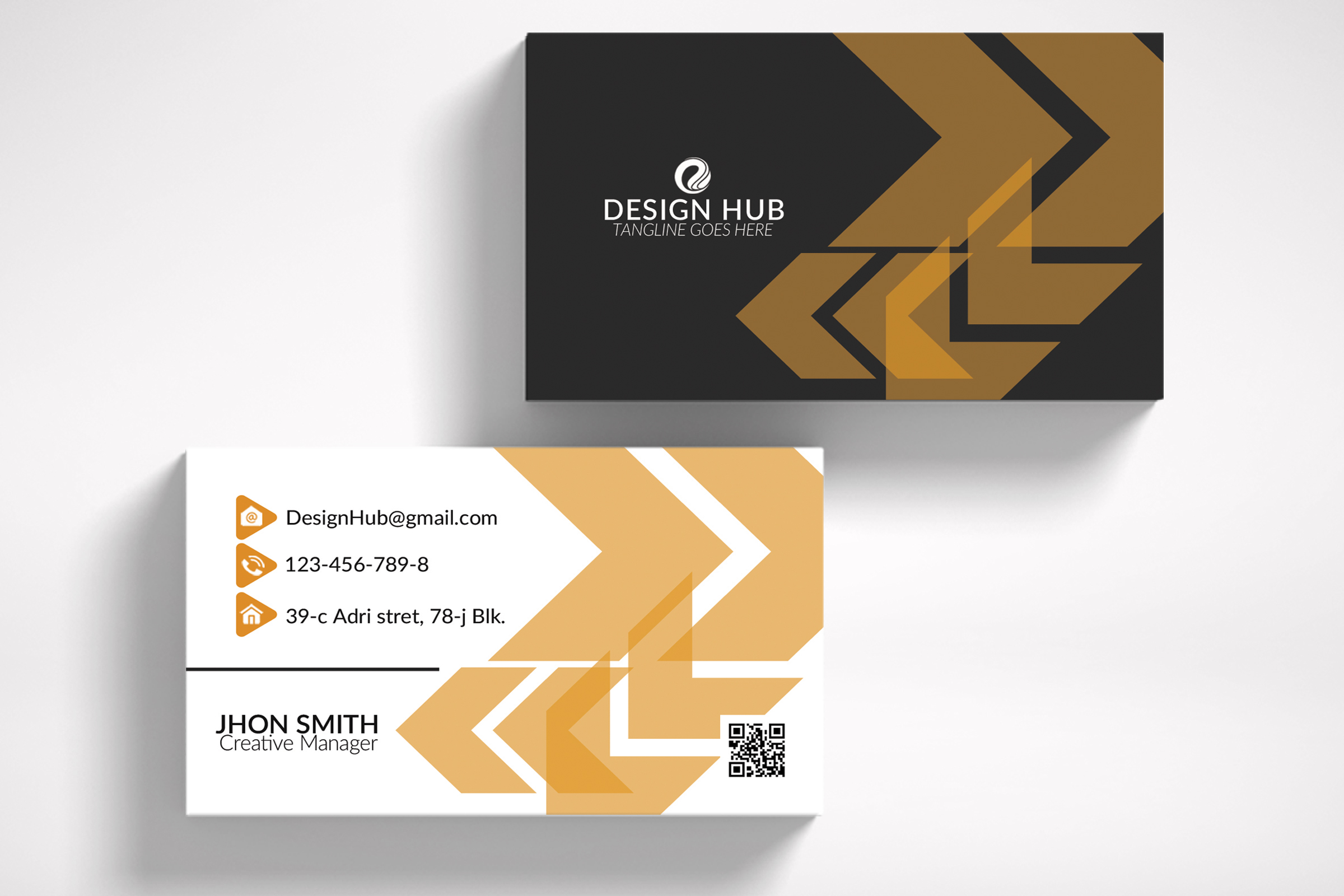 Abstract Business Card example image 3