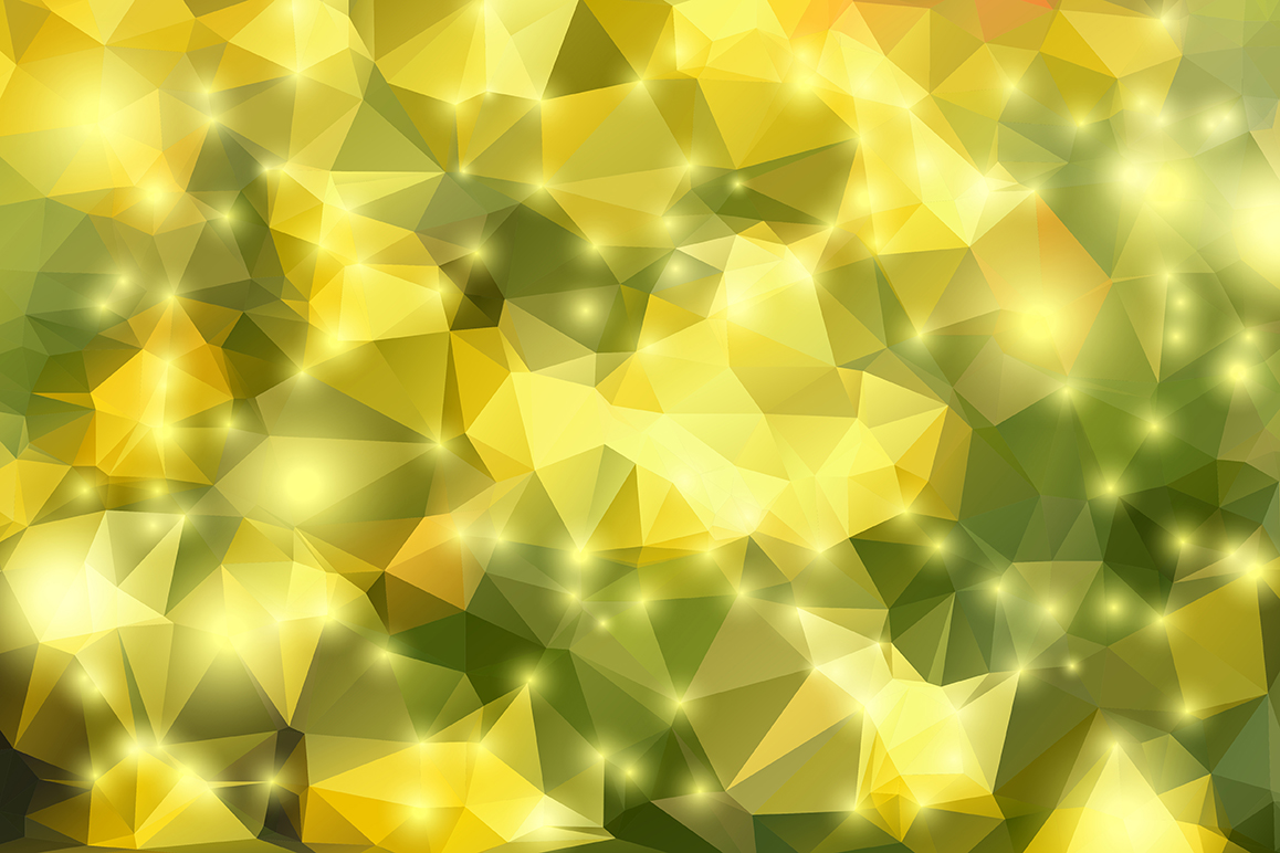 Polygon vector backgrounds set example image 21